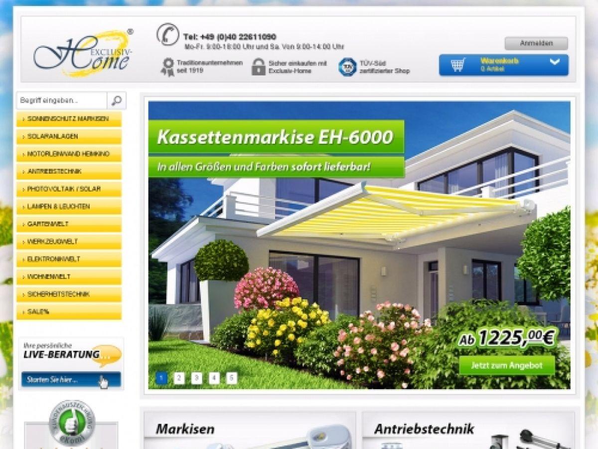 Exclusiv Home De neu exclusiv home de shop die besten onlineshops im netz